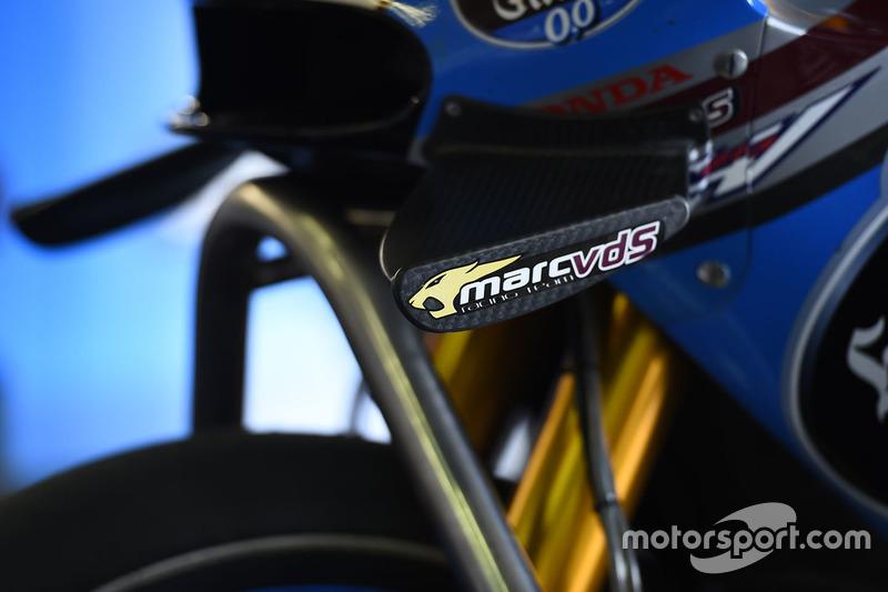 Tito Rabat, Marc VDS Racing Honda wings detail