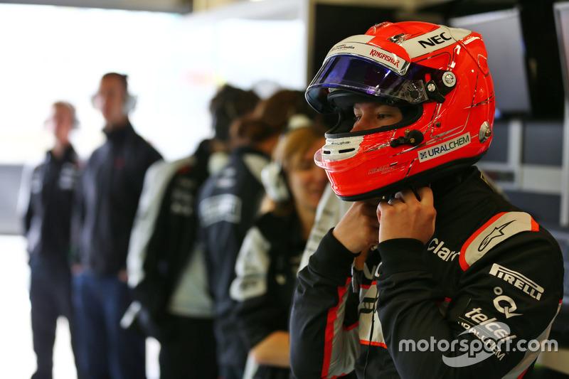 Nikita Mazepin, piloto de desarrollo del Sahara Force India F1 Team