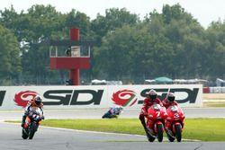 Carlos Checa, Yamaha Team and Max Biaggi, Yamaha Team