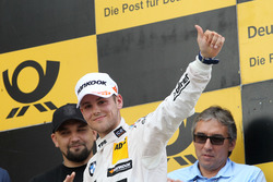 Podium: second place Tom Blomqvist, BMW Team RBM, BMW M4 DTM