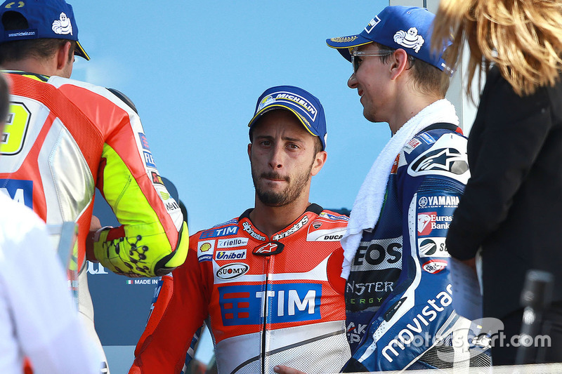 Second place Andrea Dovizioso, Ducati Team