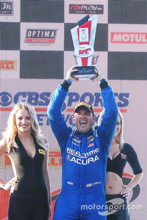 GT podium: ganador, Ryan Eversley, RealTime Racing