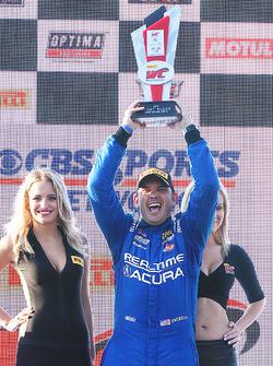 GT podium: winner Ryan Eversley, RealTime Racing