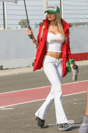 Chica del Paddock Argentina Castrol