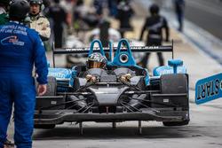 Arrêt au stand : #28 Pegasus Racing Morgan Nissan: Inès Taittinger, Remy Streibig, Leo Roussel