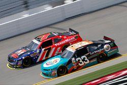Brandon Jones, Richard Childress Racing Chevrolet, Justin Allgaier, JR Motorsports Chevrolet