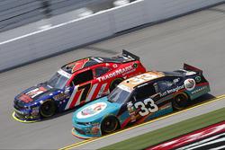 Brandon Jones, Richard Childress Racing, Chevrolet; Justin Allgaier, JR Motorsports, Chevrolet
