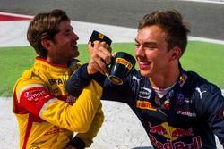 Antonio Giovinazzi, PREMA Racing et Pierre Gasly, PREMA Racing