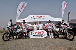 CS Santosh, Hero MotoSports Team Rally, Joaquim Rodrigues, Hero MotoSports Team Rally, Wolfgang Fisc