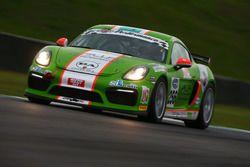 #256 Porsche Cayman GT4 CS, Dinamic Motorsport: Mercatali-Ceccotto