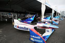 Team garage Amlin Andretti Formula E Team