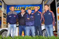 Пьеро Лонги, Густаво Треллеш, Мики Биазон, Джон Кеннард и Хейден Пэддон, Rallylegend 2016 года