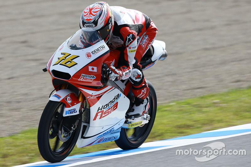 Hiroki Ono, Honda Team Asia, Moto3