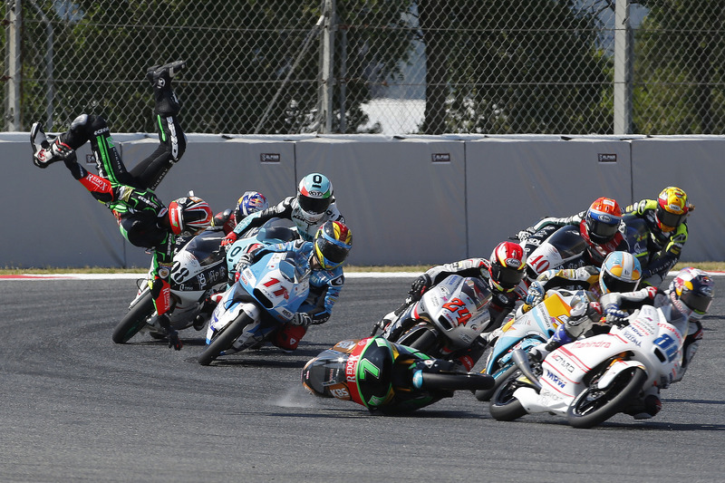 1. Adam Norrodin, Drive M7 SIC Racing Team, crash