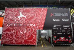 Rebellion Racing zona de Paddock