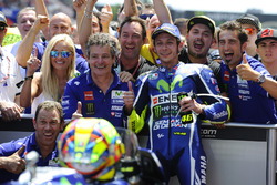 Valentino Rossi, Yamaha Factory Racing, vainqueur de la course