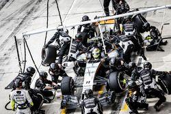 Пит-стоп: Серхио Перес, Force India F1 VJM09