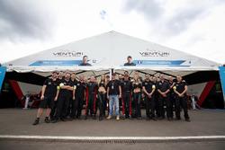Venturi Team Photo with Mike Conway, Venturi and Stéphane Sarrazin, Venturi