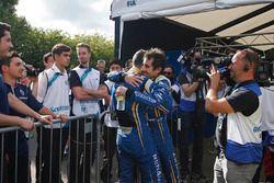 Champion und Rennsieger: Sébastien Buemi, Renault e.Dams; Nicolas Prost, Renault e.Dams
