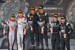Podium: 1. #58 Garage 59 McLaren 650S GT3: Rob Bell, Alvaro Parente; 2. #28 Belgian Audi Club Team W