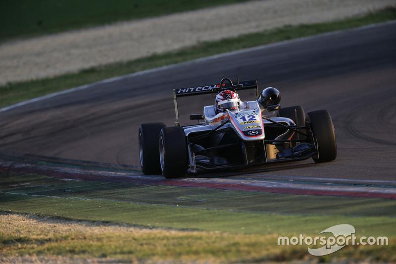George Russell, HitechGP Dallara F312, Mercedes-Benz