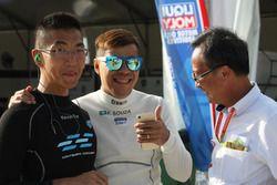 Kevin Tse Wing Kin, Volkswagen Golf Gti TCR, TeamWork Motorsport y Filipe C. De Souza, Volkswagen Go