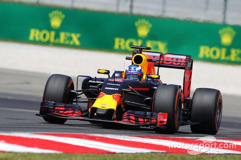 2016: Daniel Ricciardo, Red Bull-TAG Heuer RB12