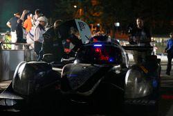 Race winnaars #60 Michael Shank Racing with Curb/Agajanian Ligier JS P2 Honda: John Pew, Oswaldo Neg