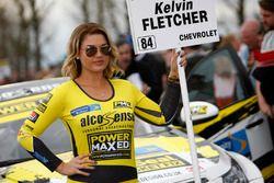 Power Maxed Racing grid girl