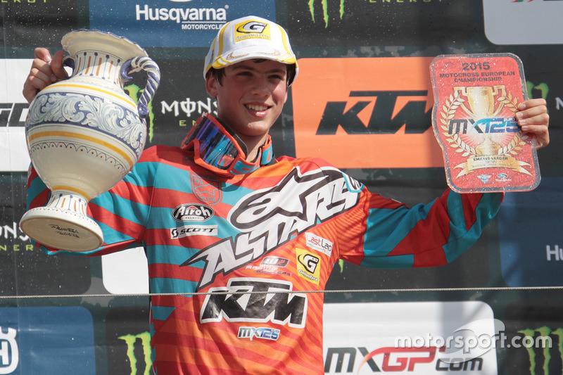 MX125 European Championship: Jorge Prado, KTM