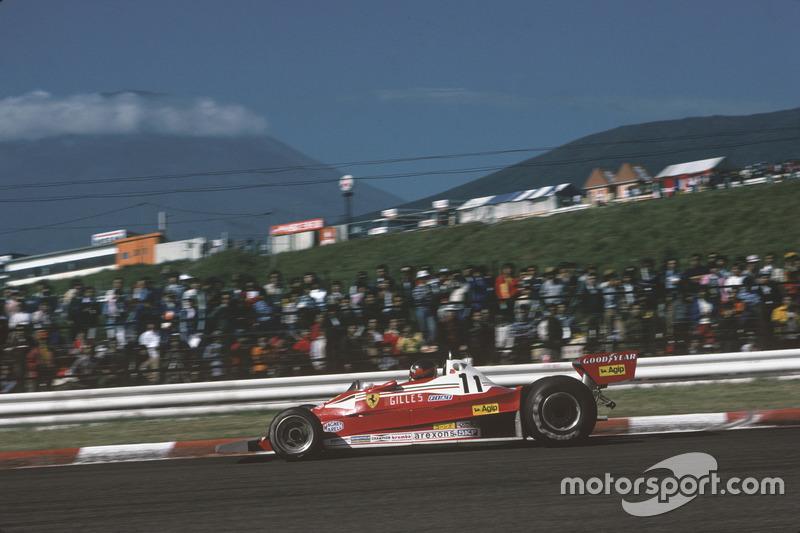 1977: Гран При Японии, Ferrari 312T2