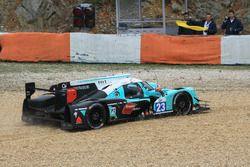 #23 Panis Barthez Competition Ligier JS P2 Nissan: Fabien Barthez, Timothe Buret, Paul-Loup Chatin i