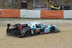 #23 Panis Barthez Competition Ligier JS P2 Nissan: Fabien Barthez, Timothe Buret, Paul-Loup Chatin in the gravel