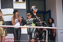 Podium: tercero, Tom Sykes, Kawasaki Racing