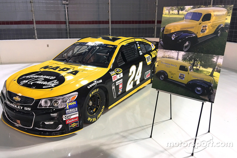 Throwback-Design von Chase Elliott, Hendrick Motorsports, Chevrolet