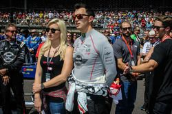 Graham Rahal, Rahal Letterman Lanigan Racing Honda, Courtney Force