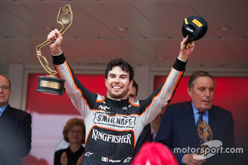 Tercero en el GP de Mónaco 2016
