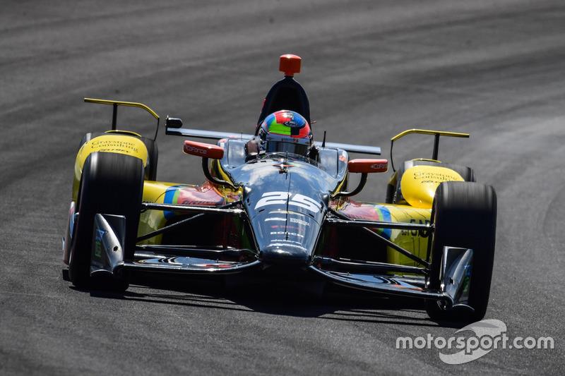 2016: Broer Stefan rijdt Indy 500