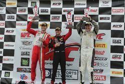 Podium GTA: first place #16 Wright Motorsports Porsche 911 GT3 R: Michael Schein, second place #07 Scuderia Corsa Ferrari 458: Martin Fuentes, third place #90 Autometrics Motorsports Porsche 911 GT3 R: Joseph Toussaint