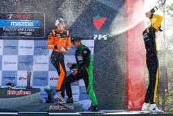Race winner Austin Versteeg