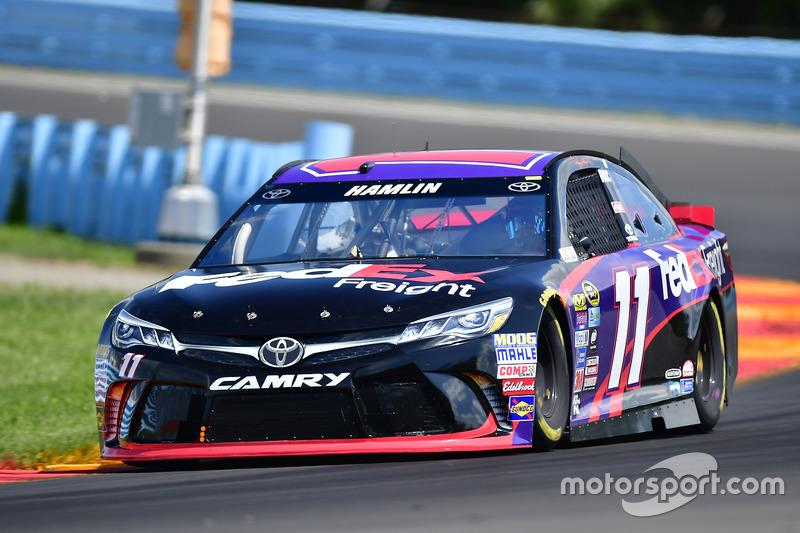 2016, Watkins Glen: Denny Hamlin (Gibbs-Toyota)