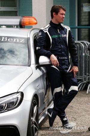 Alan Van Der Merwe, FIA Medical Car Driver