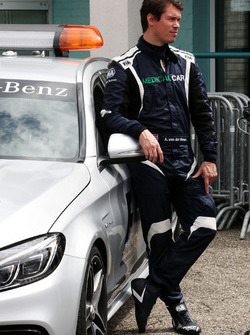 Alan Van Der Merwe, FIA Medical Car Driver