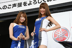 Las chicas de Yamaha