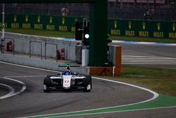 Ralph Boschung, Koiranen GP leaves the pit lane