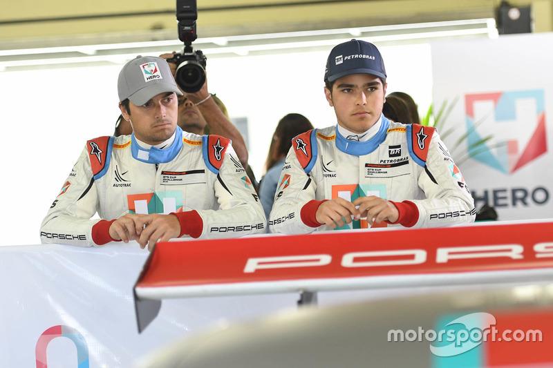 Nelsinho e Pedro Piquet