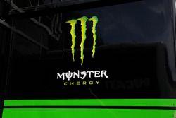 Un logo Monster Energy