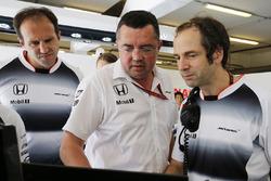 Eric Boullier, directeur de lé compétition de McLaren