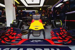 La Red Bull Racing RB12 de Max Verstappen
