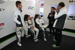 #7 Bentley Team M-Sport, Bentley Continental GT3: Guy Smith, Vincent Abril, Steven Kane with Alan McNish
